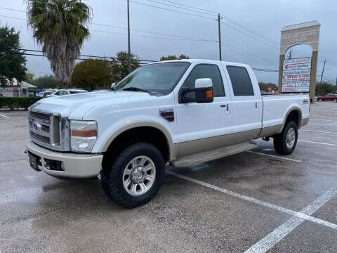 2008 Ford F-350 Super Duty for sale at T.S. IMPORTS INC in Houston TX