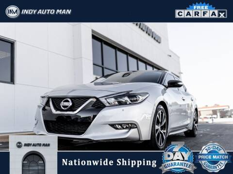 2018 Nissan Maxima for sale at INDY AUTO MAN in Indianapolis IN