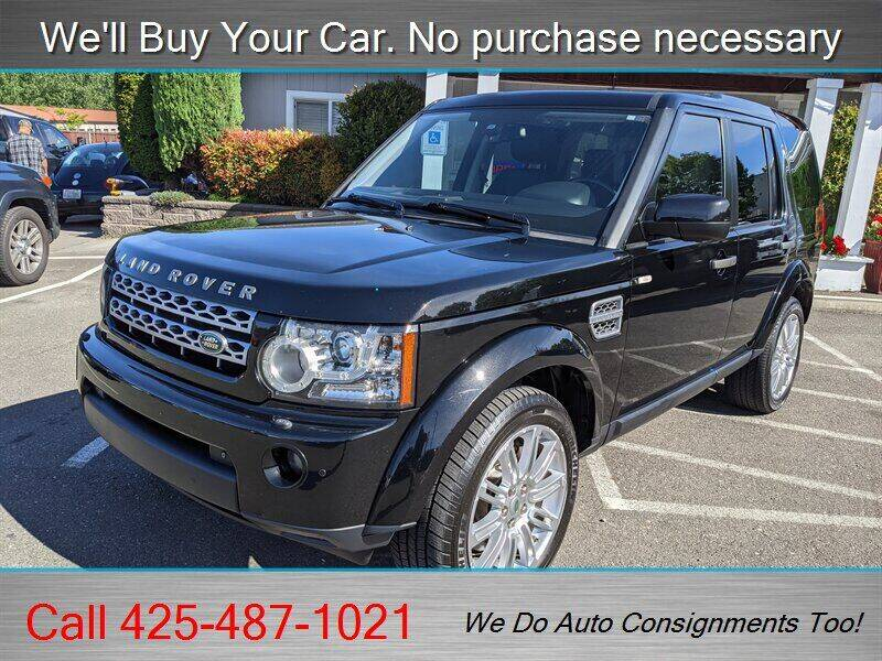 2011 Land Rover LR4 for sale at Platinum Autos in Woodinville WA
