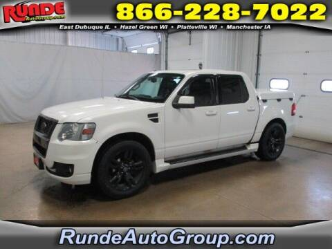 2009 Ford Explorer Sport Trac for sale at Runde PreDriven in Hazel Green WI