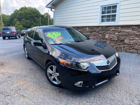2011 Acura TSX for sale at No Full Coverage Auto Sales in Austell GA