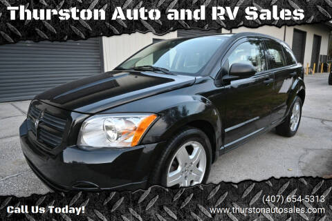 2008 Dodge Caliber for sale at Thurston Auto and RV Sales in Clermont FL