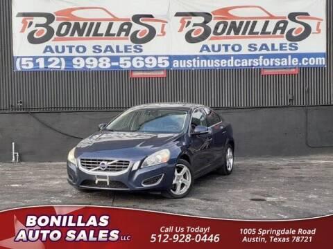 2012 Volvo S60 for sale at Bonillas Auto Sales in Austin TX