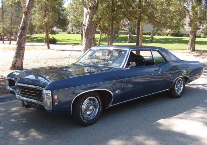 1969 Chevrolet Impala for sale at Haggle Me Classics in Hobart IN