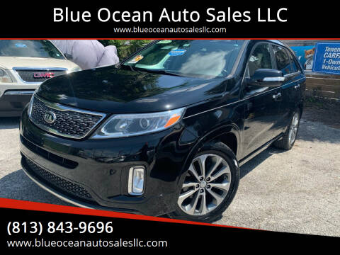 2015 Kia Sorento for sale at Blue Ocean Auto Sales LLC in Tampa FL