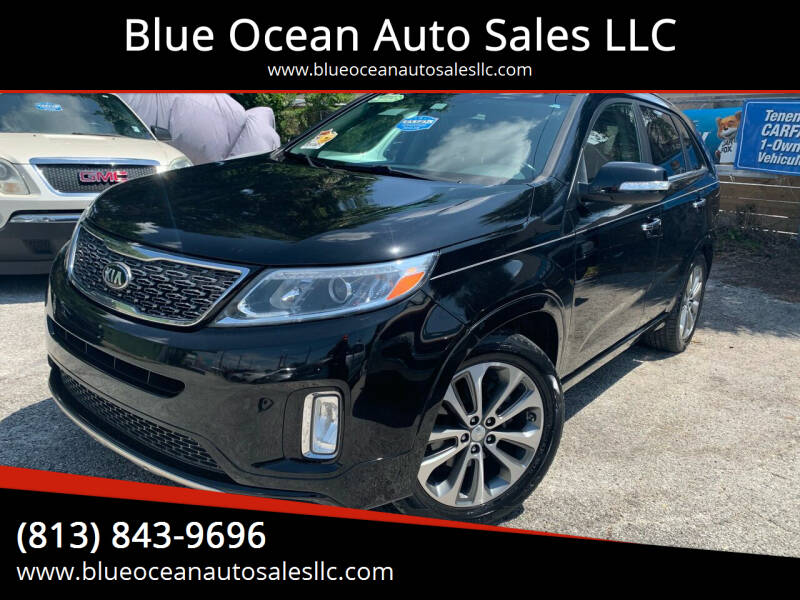 2015 Kia Sorento for sale at Blue Ocean Auto Sales LLC in Tampa FL