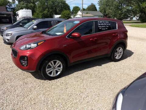 2017 Kia Sportage for sale at Economy Motors in Muncie IN