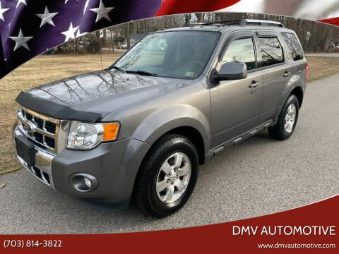2012 Ford Escape for sale at DMV Automotive in Falls Church VA