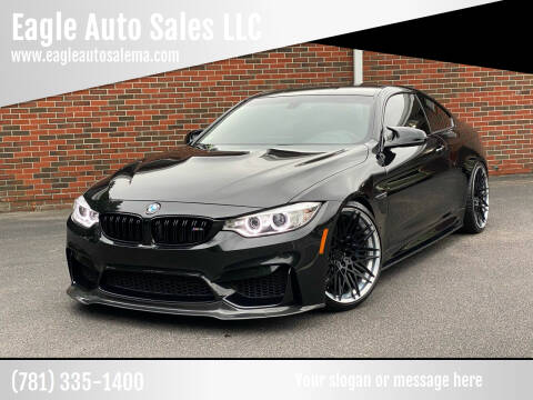 2016 BMW M4 for sale at Eagle Auto Sales LLC in Holbrook MA