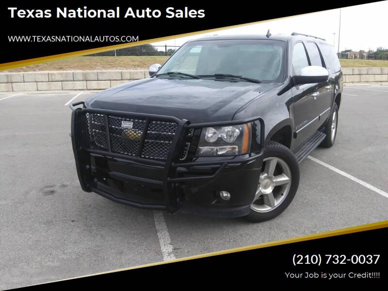 2008 Chevrolet Suburban for sale at Texas National Auto Sales in San Antonio TX