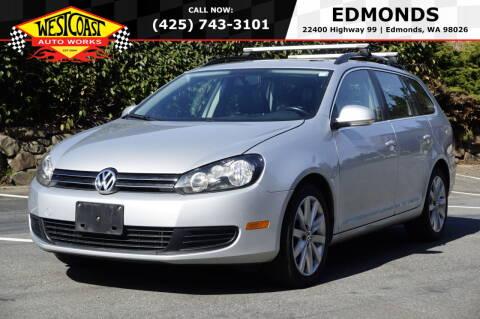 2011 Volkswagen Jetta for sale at West Coast Auto Works in Edmonds WA