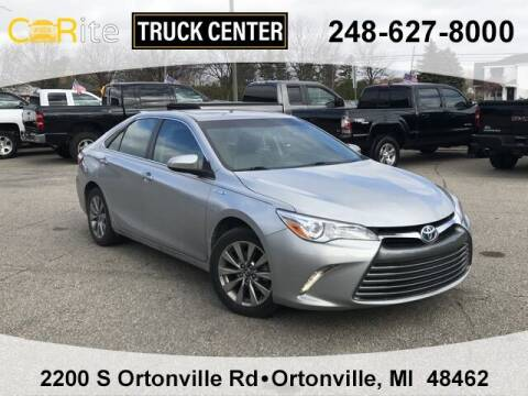 2017 Toyota Camry Hybrid for sale at Carite Truck Center in Ortonville MI