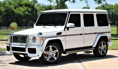 2004 Mercedes-Benz G-Class for sale at Texas Auto Corporation in Houston TX