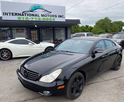2007 Mercedes-Benz CLS for sale at International Motors Inc. in Nashville TN