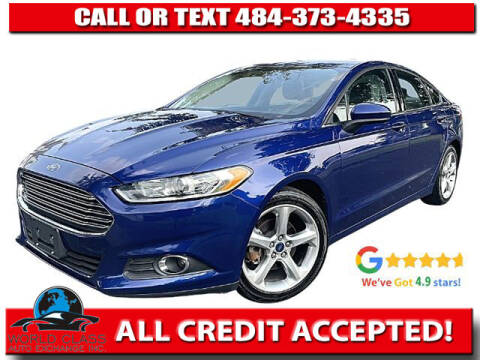 2016 Ford Fusion for sale at World Class Auto Exchange in Lansdowne PA