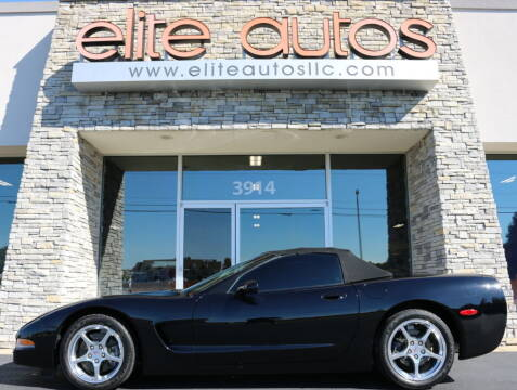 2000 Chevrolet Corvette for sale at Elite Autos LLC in Jonesboro AR