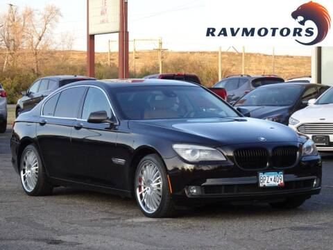 2011 BMW 7 Series for sale at RAVMOTORS in Burnsville MN