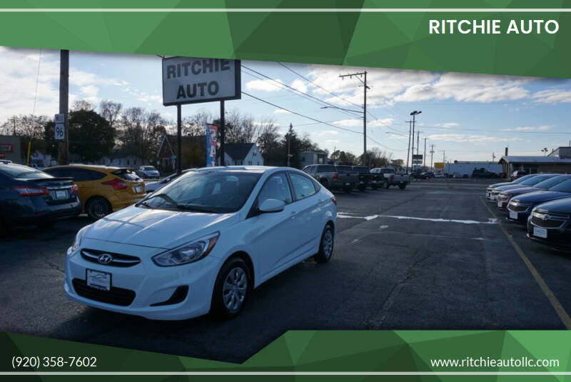 2015 Hyundai Accent for sale at Ritchie Auto in Appleton WI