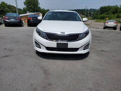 2015 Kia Optima for sale at DISCOUNT AUTO SALES in Johnson City TN