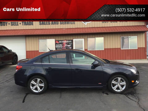 2014 Chevrolet Cruze for sale at Cars Unlimited in Marshall MN