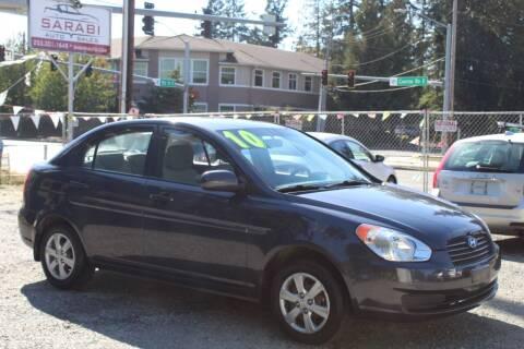 2010 Hyundai Accent for sale at Sarabi Auto Sale in Puyallup WA