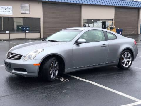 2003 Infiniti G35 for sale at Exelon Auto Sales in Auburn WA