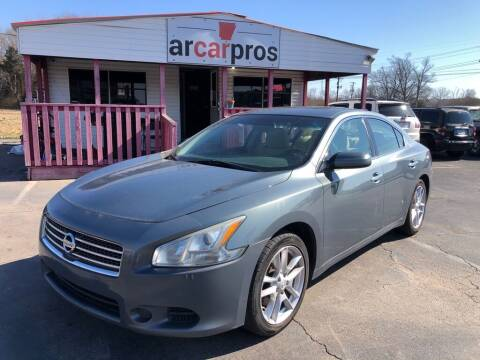 2011 Nissan Maxima for sale at Arkansas Car Pros in Cabot AR