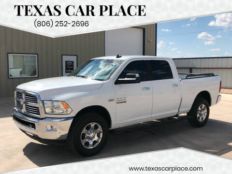 2017 RAM Ram Pickup 2500 for sale at TEXAS CAR PLACE in Lubbock TX