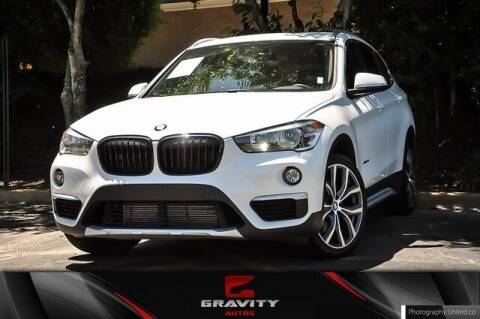 2018 BMW X1 for sale at Gravity Autos Atlanta in Atlanta GA