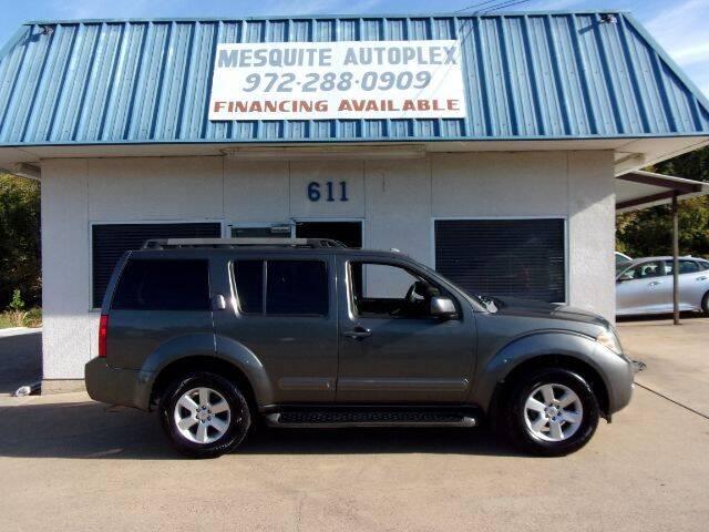 2008 Nissan Pathfinder for sale at MESQUITE AUTOPLEX in Mesquite TX
