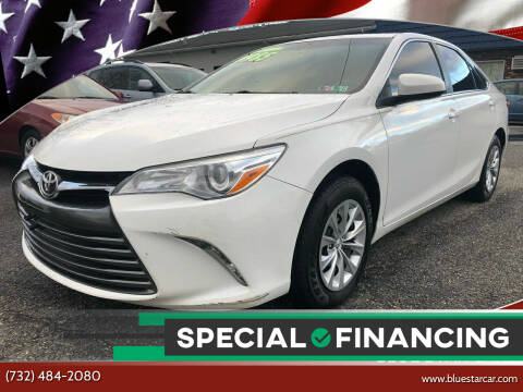 2017 Toyota Camry for sale at Blue Star Cars in Jamesburg NJ