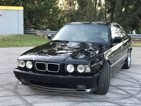 1992 BMW M5 for sale at Exclusive Impex Inc in Davie FL