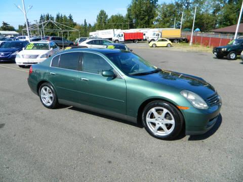 2003 Infiniti G35 for sale at J & R Motorsports in Lynnwood WA