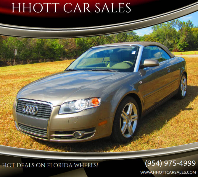2008 Audi A4 for sale at HHOTT CAR SALES in Deerfield Beach FL