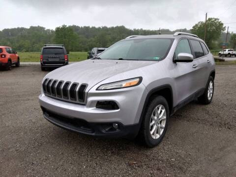 2018 Jeep Cherokee for sale at G & H Automotive in Mount Pleasant PA