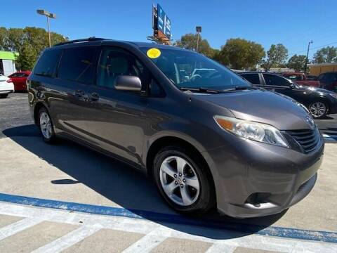 2013 Toyota Sienna for sale at Used Cars of SWFL in Fort Myers FL