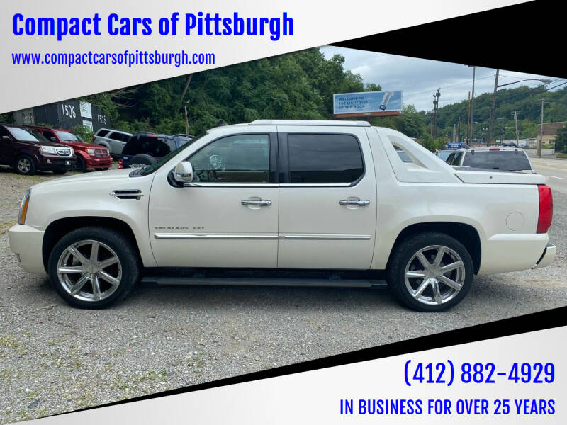 2010 Cadillac Escalade EXT for sale at Compact Cars of Pittsburgh in Pittsburgh PA