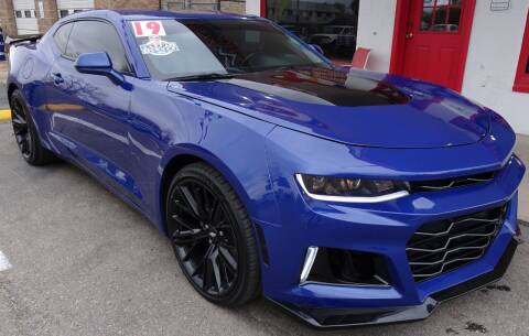 2019 Chevrolet Camaro for sale at VISTA AUTO SALES in Longmont CO