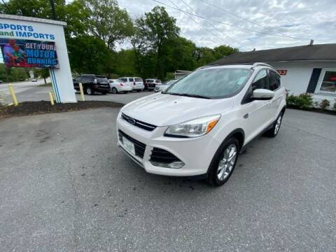 2014 Ford Escape for sale at Sports & Imports in Pasadena MD
