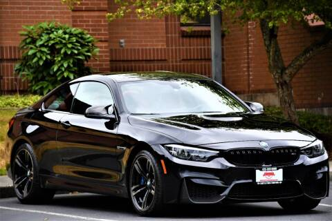 2018 BMW M4 for sale at SEATTLE FINEST MOTORS in Lynnwood WA
