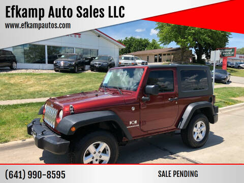 2007 Jeep Wrangler for sale at Efkamp Auto Sales LLC in Des Moines IA