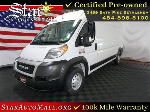 2019 RAM ProMaster Cargo for sale at STAR AUTO MALL 512 in Bethlehem PA