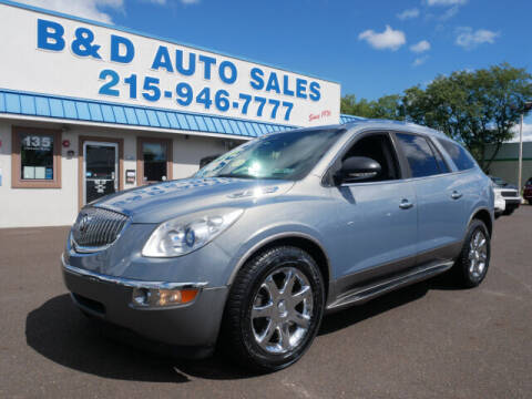 2008 Buick Enclave for sale at B & D Auto Sales Inc. in Fairless Hills PA