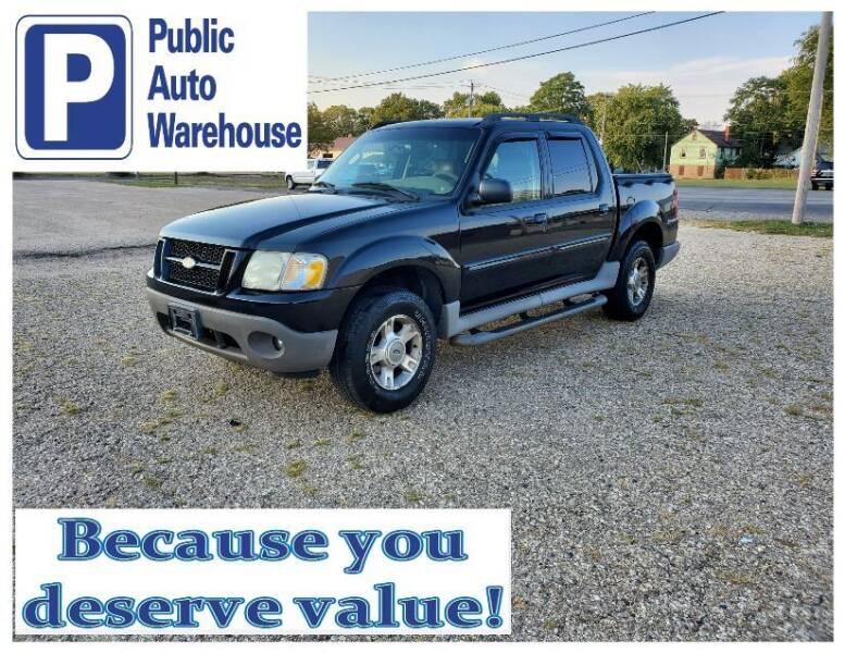 2003 Ford Explorer Sport Trac for sale at Public Auto Warehouse in Pekin IL
