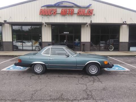 1980 Mercedes-Benz 450 SL for sale at DOUG'S AUTO SALES INC in Pleasant View TN