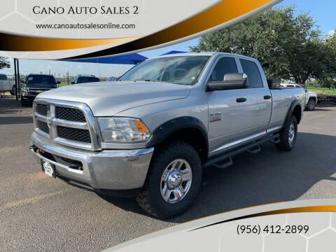 2014 RAM Ram Pickup 2500 for sale at Cano Auto Sales 2 in Harlingen TX