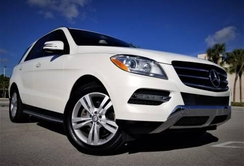 2014 Mercedes-Benz M-Class for sale at Progressive Motors in Pompano Beach FL