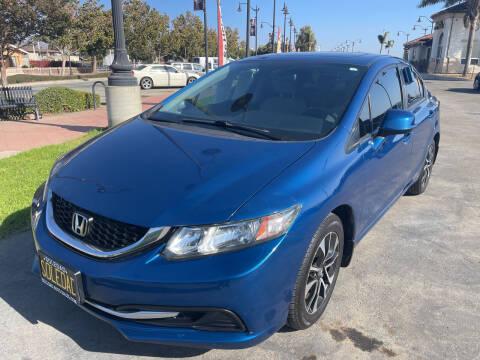 2013 Honda Civic for sale at Soledad Auto Sales in Soledad CA
