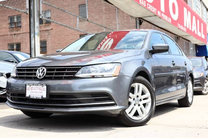 2018 Volkswagen Jetta for sale at HILLSIDE AUTO MALL INC in Jamaica NY