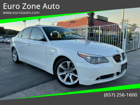 2006 BMW 5 Series for sale at Euro Zone Auto in Stanton CA